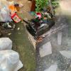 兵庫県三田市へ玄関前の袋ゴミなど処分させて頂きました。