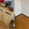 大阪市住之江区へ引っ越しに伴い家具などの処分にお伺いさせて頂きました。