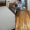大阪府豊中市へ引っ越しに伴いベッドの処分にお伺いさせて頂きました。