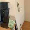 兵庫県神戸市垂水区へ引っ越しに伴い冷蔵庫の処分にお伺いさせていただきました。