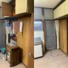 大阪府枚方市へ引っ越しに伴いお部屋の不用品の回収作業にお伺いさせて頂きました。