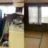 神戸市垂水区へお部屋の一室の不用品回収にお伺いさせて頂きました。