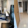 大阪府箕面市へ引っ越しに伴い家具、家電などの不用品回収にお伺いさせて頂きました。